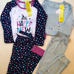 NWT gymboree pajama bundle 12Y
